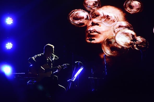 Nitin Sawhney at Royal Albert Hall (photo: Morah Geist)
