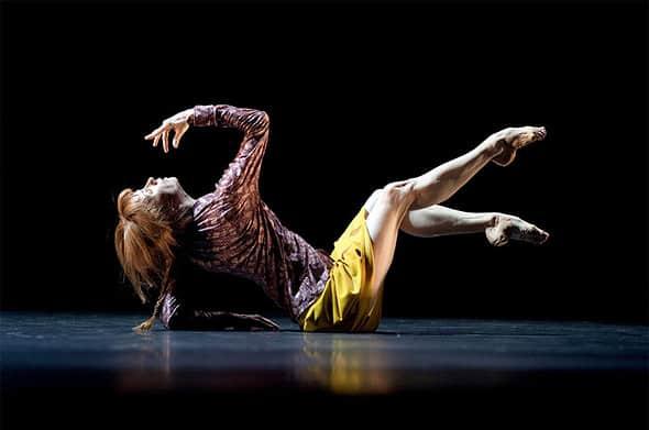 Sylvie Guillem in Mats Ek's Bye. Photo Lesley Leslie-Spinks