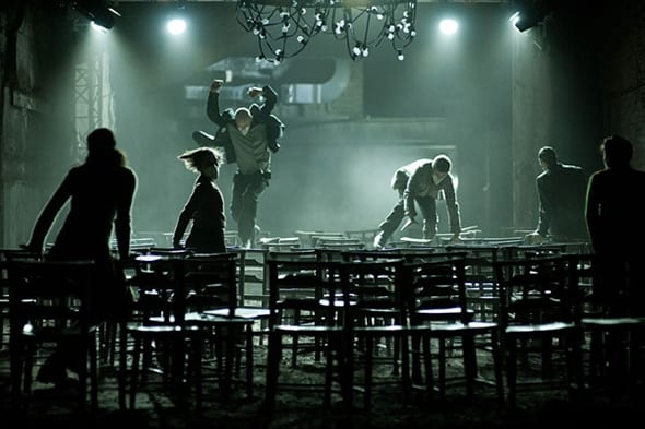 Vincent Dance Theatre in Underworld (photo: Julia Parsons)