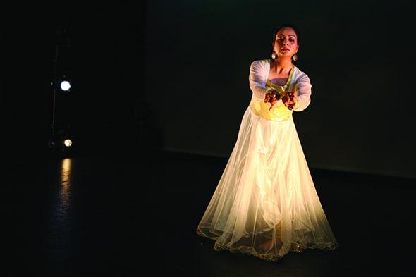 Anuradha Chaturvedi of Drishti Dance (photo: Sarah Jex)