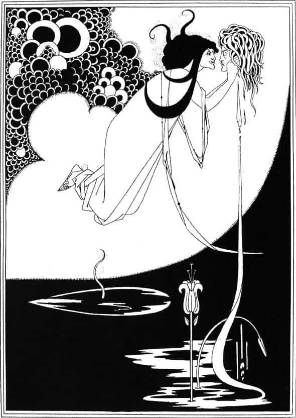 Aubrey Beardsley, The Climax, 1893.