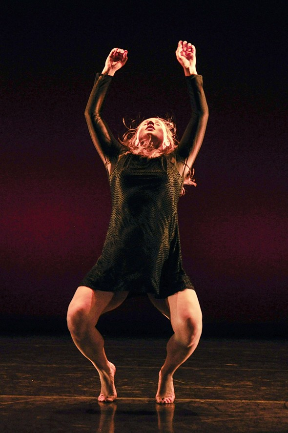 Jodie Cole in I am not in love (photo © Foteini Christofilopoulou)