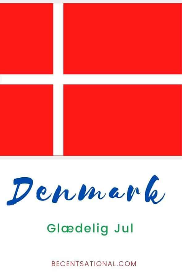 How to say Merry Christmas in Danish