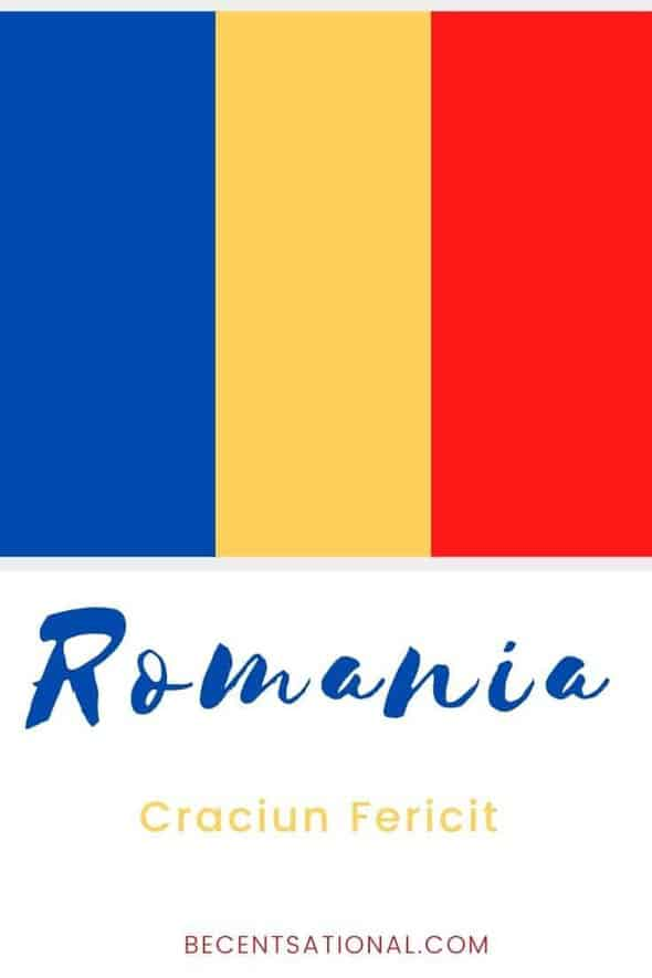 How to say Merry Christmas in Romanian