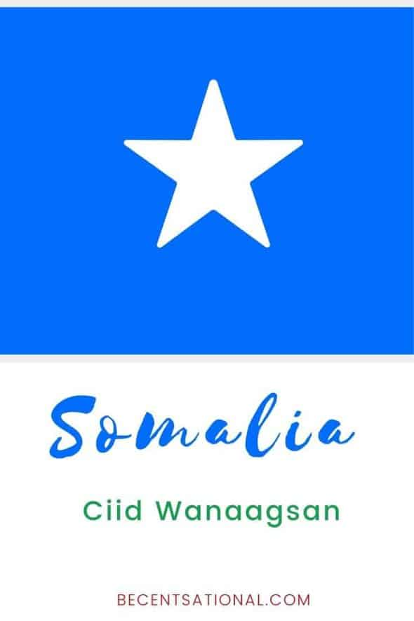How to say Merry christman in Somali