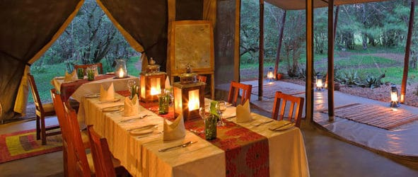 Encounter Mara Dining Area