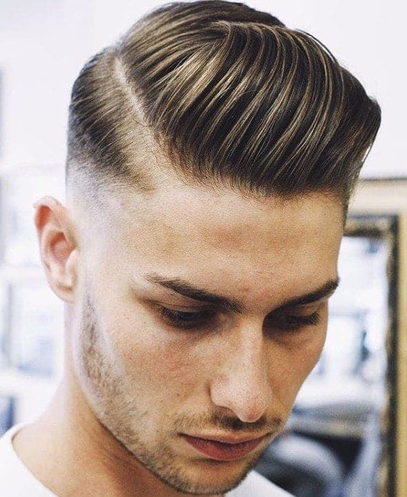4 Easy Hairstyles for Men With Thick Hair | 18/8 Men\'s Salon ...