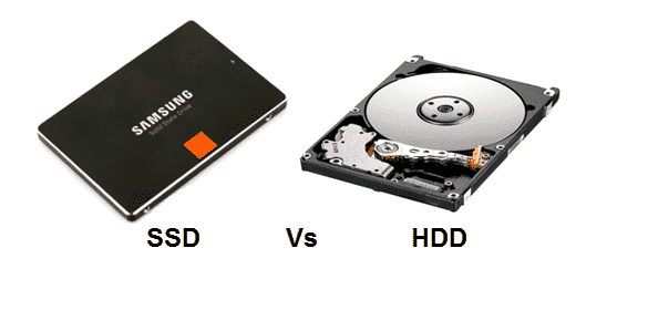 difference between SSD and hdd