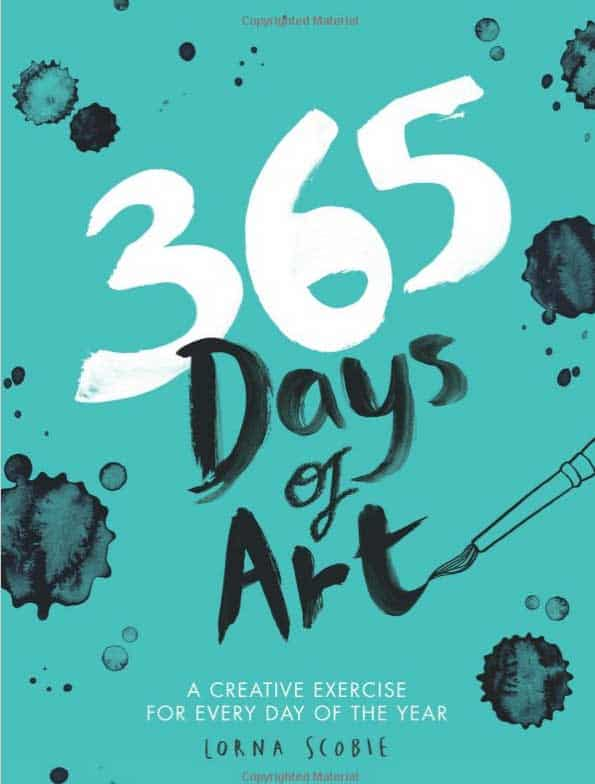 365 Days of Art - Mindfulness Adult Colouring