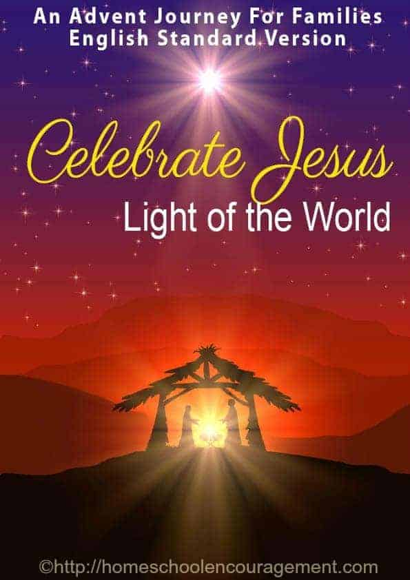 Celebrate Jesus - an Advent schedule for families for Christmas / Advent 2014 -