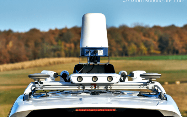 Halma and Oxbotica announcement with off-road video for radar localisation for autonomous vehicles