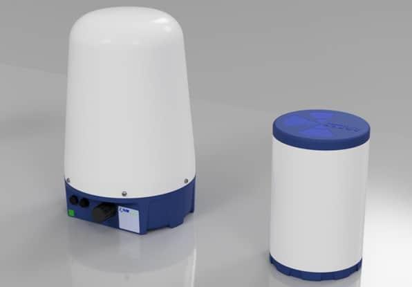 photo of leopon prototype radar security system for CIR CAS