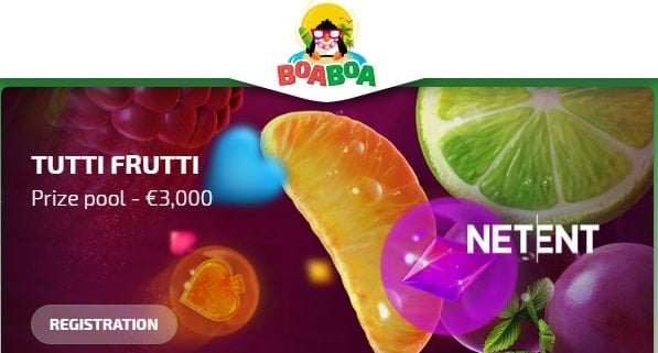 BoaBoa Casino 3,000 EUR free bonus