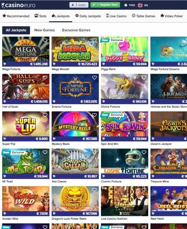 CasinoEuro.com Review