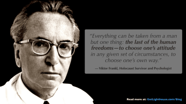 Viktor Frankl - Positive Outlook matters