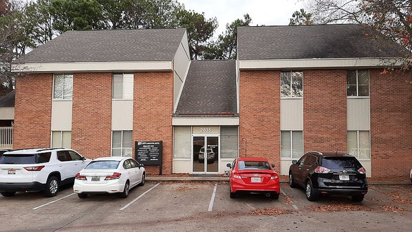 Sales Office inside Zelda Executive Suites Building