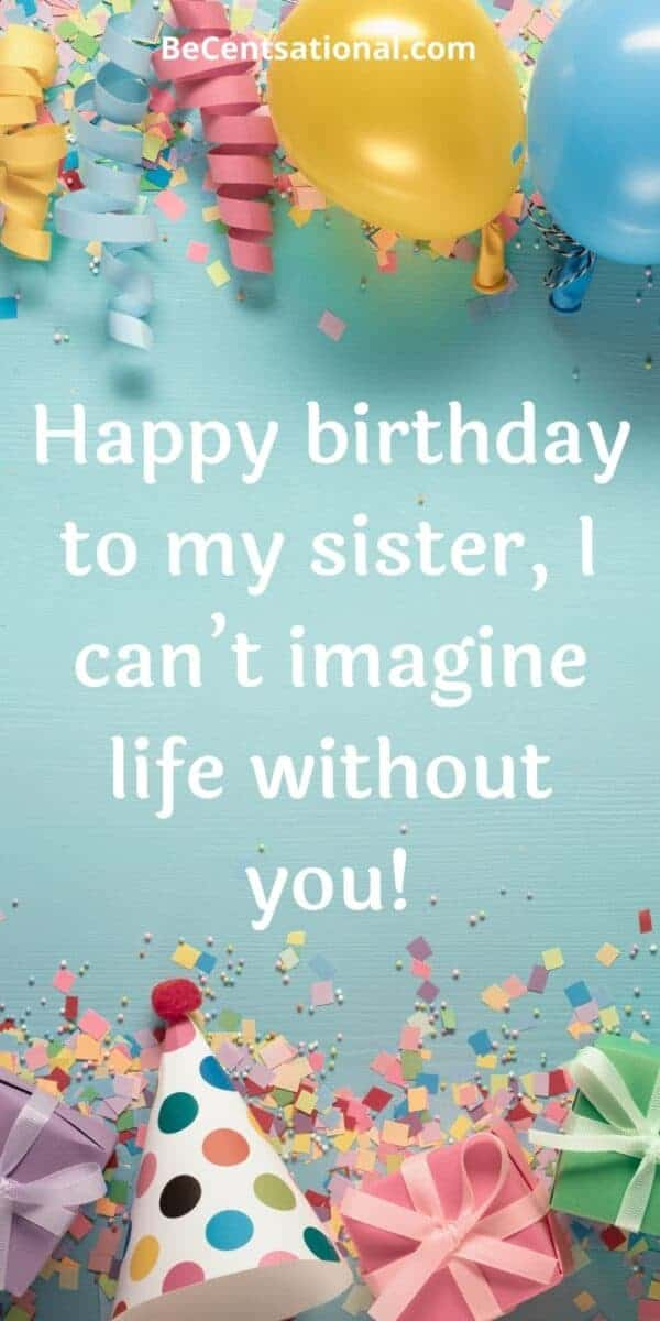 birthday wishes for sister   happy birthday sister