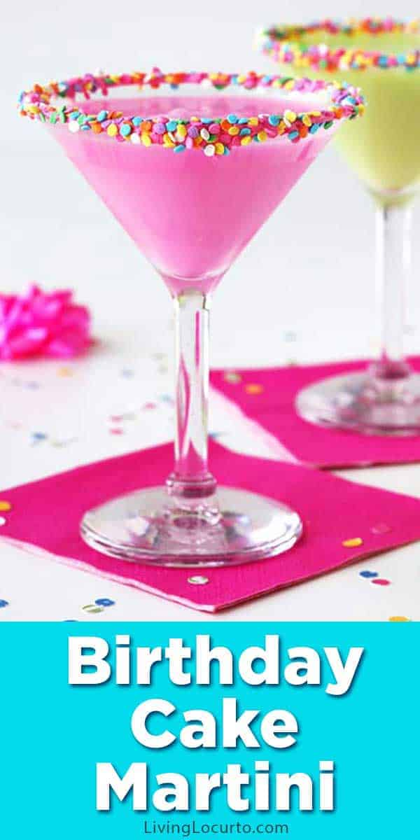 Birthday Cake Martini Recipe Easy Party Cocktail