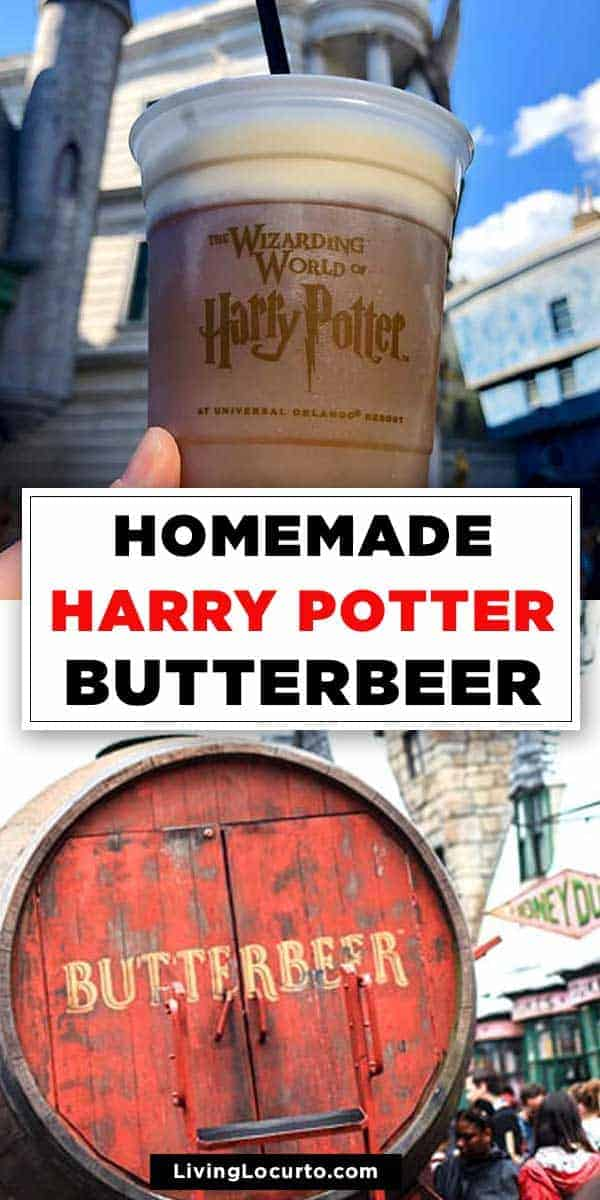 Easy Butterbeer Recipe is a perfect drink for Harry Potter fans. Copycat recipe