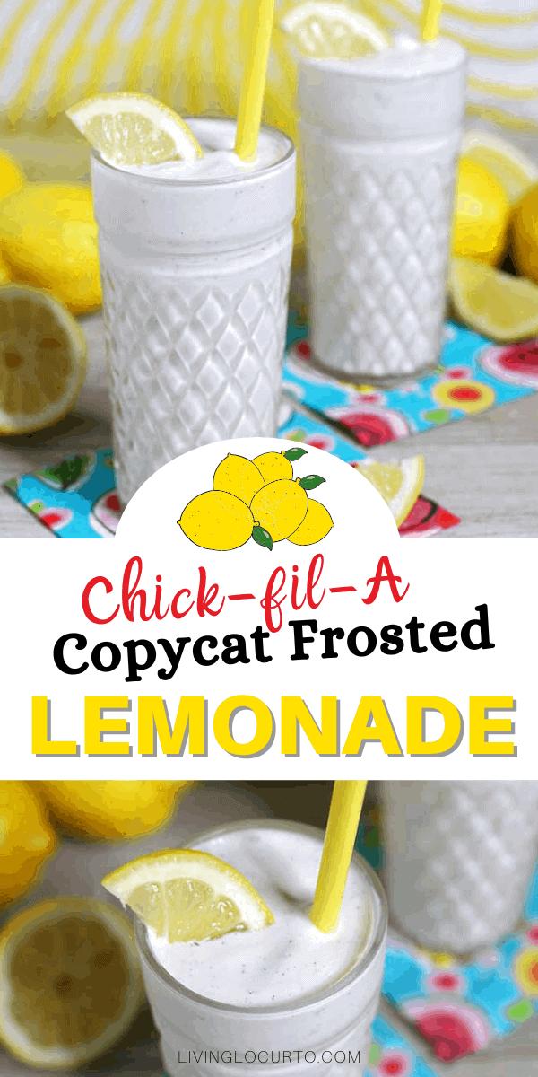 Chick-fil-A Copycat Frosted lemonade recipe