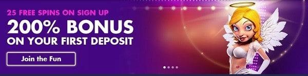 BondiBet Casino 200% welcome bonus and free spins