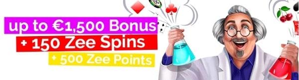 Playzee Casino get free bonus