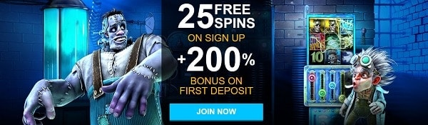 Winward Casino 25 free spins and 675% welcome bonus