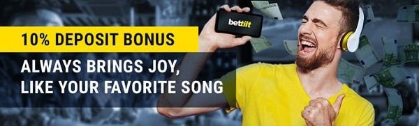 Bettilt Casino 10% bonus
