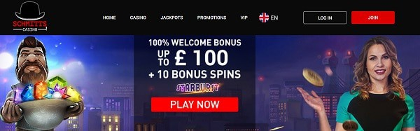 10 free spins on Saturday and 100% welcome bonus