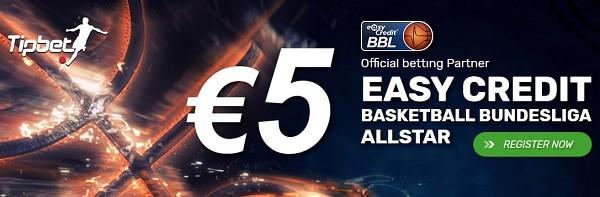 5 EUR no deposit bonus