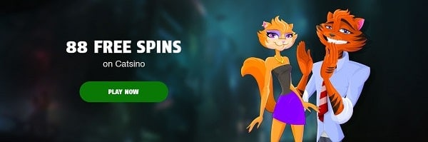 88 gratis spins bonus