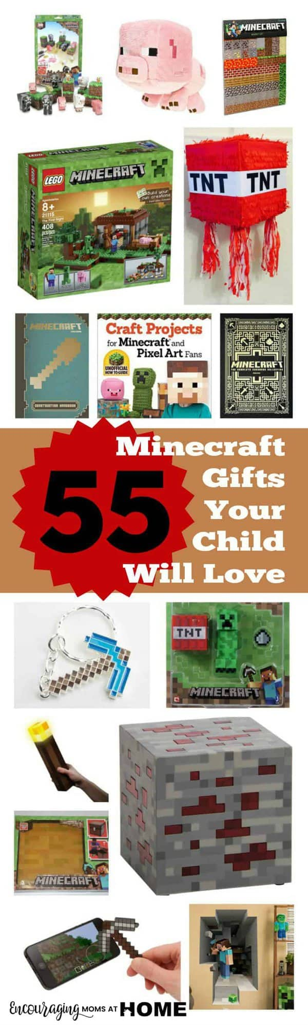55 minecraft gifts your child will love