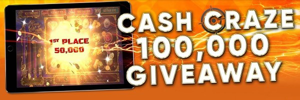 Tangiers Casino $100,000 giveaway