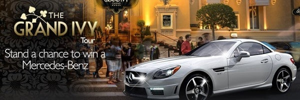 Grand Ivy prize lottery