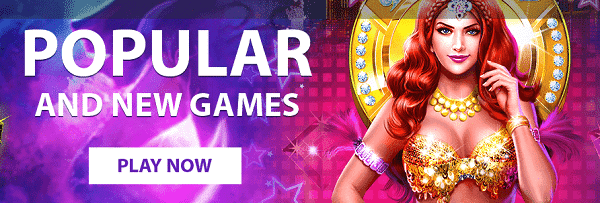 Popular games and free spins