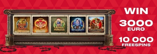 Claim 10,000 free spins to FavBet Casino Online!