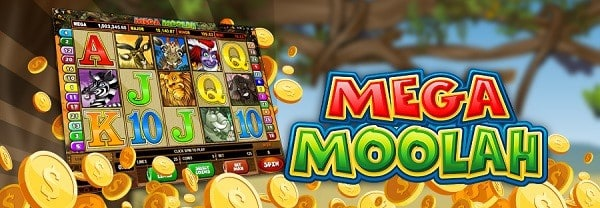 MEGA MOOLAH free spins and bonuses