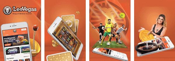Leo Vegas Casino, Slots, Live Dealer, Sportsbook - mobile app