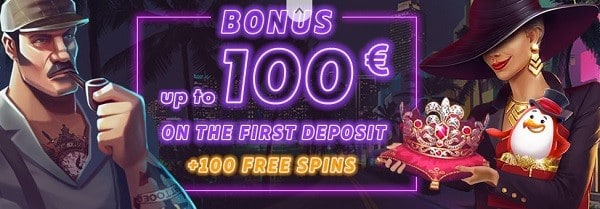 Red Pingwin Casino 100 EUR welcome bonus