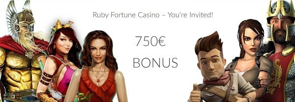 Ruby Fortune Casino 100 free spins on Sugar Parade slot