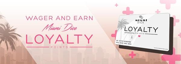 Miami Dice Loyalty & VIP rewards