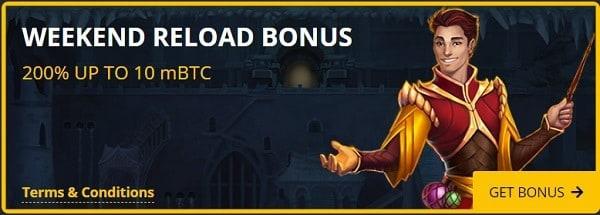 200% bonus - reload promotion