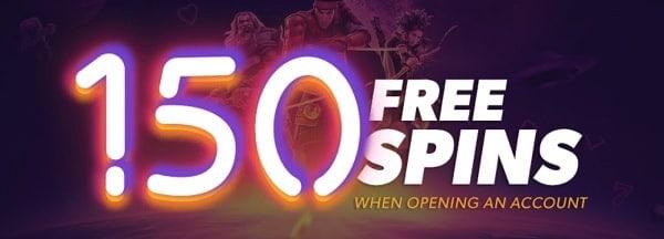 iGame.com 150 free spins or 450 gratis spins no deposit bonus