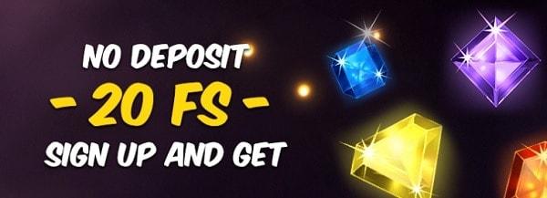 Hotline Casino 20 free spins no deposit bonus