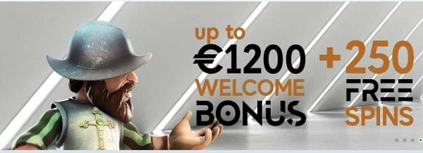 GoPro Casino 250 free spins on slots