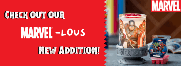 Marvel-lous Wax Warmers from Scentsy & Marvel!
