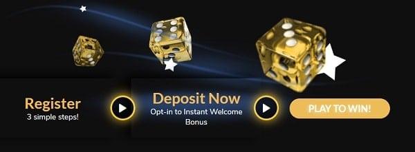 Jackpot Village welcome offer
