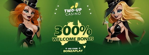 US/AU Casino welcome bonus: 300%