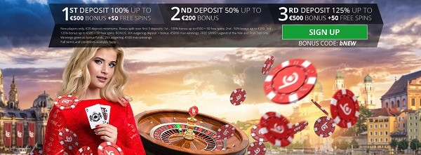 bCasino welcome offer