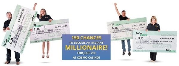 Cosmo Casino big winners